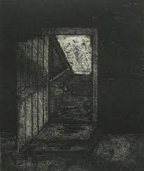 creepy basement drawing