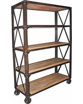 Reclaimed Wood And Metal Bookcase Tis The Season For Savings On Industrial Pipe And Wood Bookcase