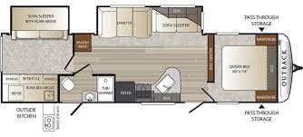keystone travel trailer floor plans keystone outback rvs for sale camping world rv sales