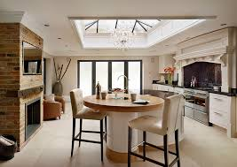 edwardian traditional painted kitchen davonport