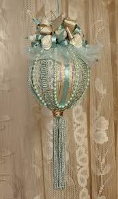 handmade victorian christmas ornament go to the craft store and