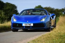 ferrari coupe convertible new ferrari 488 spider 2016 review auto express