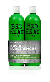 hair uk bed by tigi elasticate tween duo strengthening shoo and