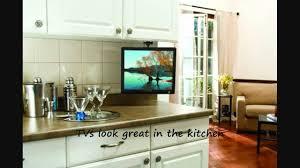 creative designs under kitchen cabinet tv excellent ideas under