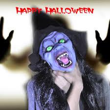 masks halloween accessories halloween popular purple cape costume