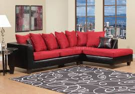 black sectional sofa bed red sectional couch sectional sofa set in red bonded leather