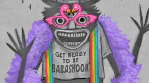 Gay Pride Meme - scary horror monster the babadook has become a gay pride meme