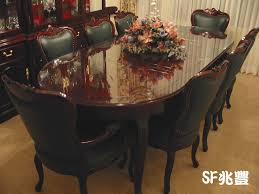 Quality Leather Dining Chairs Solid Rosewood Furniture 100 High Quality Leather Dining Table