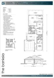 Floor Plans For Narrow Blocks by Home Designs U0026 House Plans Iq Homes Armadale Perth