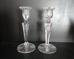 Crystal Candle Sconces Crystal Candlestick Etsy