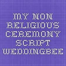 wedding ceremony script non religious the 25 best religious ceremony ideas on religious