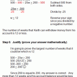 inequality word problems worksheet solving word problems in