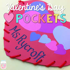 Valentine S Day Decorations For Classroom by Valentine U0027s Day Heart Pockets Proud To Be Primary