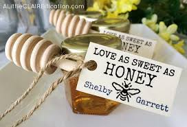 honey favors honey jar wedding favors with free printable labels a