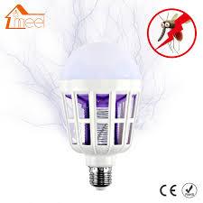 bug repellent light bulbs electronic mosquito killer night light 220v e27 led bulb mosquito