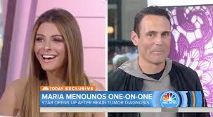 can you color hair after brain surgery maria menounos suffering symptoms of brain tumor surgery people com
