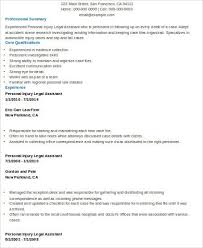 Personal Injury Paralegal Resume Sample by Personal Injury Paralegal Resume Sample Best Format