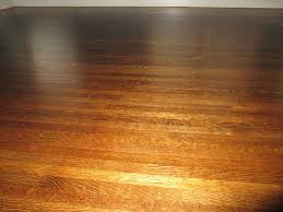 quartersawn white oak hardwood floors after refinishing provided