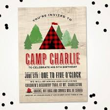 best 25 camping birthday invitations ideas on pinterest camping