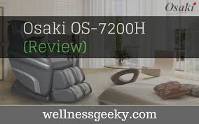 Osaki Os 4000 Massage Chair Review Osaki Os 4000 Zero Gravity Massage Chair Review 2017