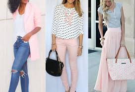 what goes with pink colors that go with light pink clothes outfit ideas fashion rules