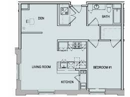 One Bedroom And A Den One Bedroom And A Den
