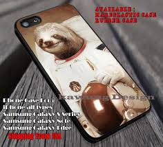 Astronaut Sloth Meme - sloth in astronaut meme iphone 6s 6 6s 6plus cases samsung galaxy