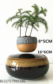 free shipping buy best magnetic levitation air bonsai no plant