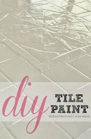Backsplash Tile Paint by How To Paint Ugly Tile Great Website For Home Projects