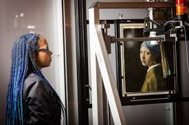 vermeer pearl earring vermeer s girl with a pearl earring gets bodyscan