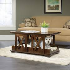 pet products coffee table pet bed 417195 sauder