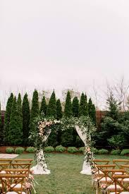 wedding arch nashville molli louis intimate wedding at the cordelle nashville