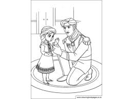 disney frozen colouring pages colou game kids