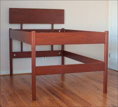 Low Platform Bed Frame Plans by Low Profile Bed Frame Diy Easy To Build Diy Platform Bed Designs