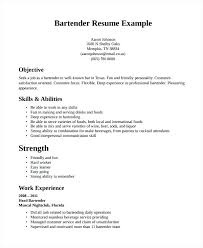 great resumes exles resume bartender resume exle great resumes exams template