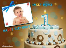 happy 1st birthday boy choose ecard from birthday ecards