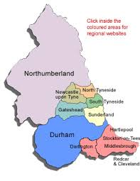 map of east uk home