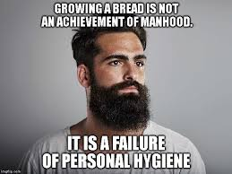 No Beard Meme - a beard makes no man imgflip