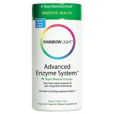 rainbow light advanced enzyme system rainbow light advanced enzyme system dietary supplement capsules