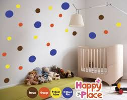 large nursery wall decals modern nursery wall decal large wall decal polka dots mural am044