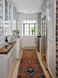Undermount Sink In Butcher Block Countertop by Inspiring Traditional White Kitchen White Table Wooden Chair Beige