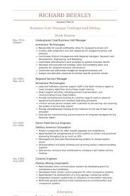 Service Manager Resume Sample by Business Unit Manager Resume Samples Visualcv Resume Samples