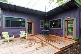 tiny purple cottage in portland