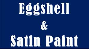 difference between eggshell and satin paint eggshell vs satin