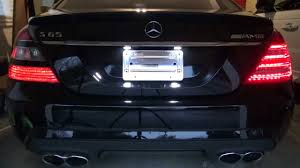 how to install facelift led tail lights 2010 w221 mercedes benz