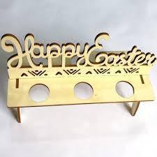 happy easter decorations 2018 happy easter wooden egg holder easter decorations wood in other