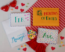 day gift for him holidays diy s day gift for him 12 months of dates