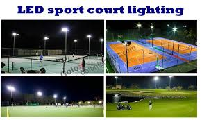 Sports Light Fixtures Outdoor Led Sport Court Lighting 150w 200w Led Outdoor Tennis