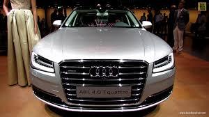 audi a8 4 0 t review 2014 audi a8l 4 0t quattro exterior and interior walkaround