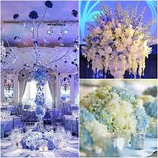 centerpiece ideas for wedding fabulous blue wedding centerpieces wedding guide